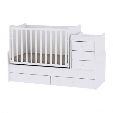 Auganti vaikiška lovytė su komoda Lorelli Maxi Plus New, 110x62 7