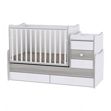 Auganti vaikiška lovytė su komoda Lorelli Maxi Plus New, 110x62 9