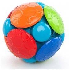 Oball vibruojantis kamuoliukas su muzika
