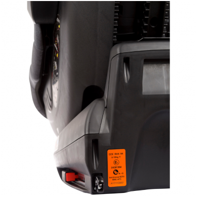 Automobilinė kėdutė Iso 360, 0-18 kg, Red 9