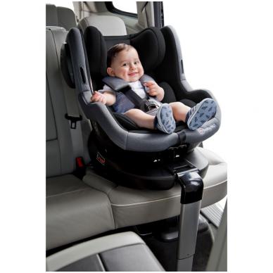 Automobilinė kėdutė Iso 360, 0-18 kg, Grey 13