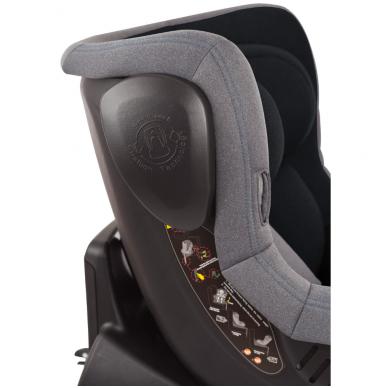 Automobilinė kėdutė Iso 360, 0-18 kg, Grey 7
