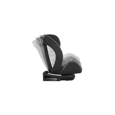 Automobilinė kėdutė Lorelli, Rialto Isofix Black&Grey 0-36 kg 3