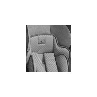 Automobilinė kėdutė Lorelli, Rialto Isofix Black&Grey 0-36 kg 6