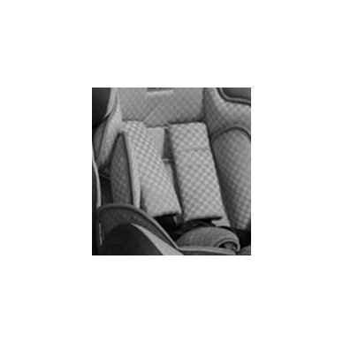Automobilinė kėdutė Lorelli, Rialto Isofix Black&Grey 0-36 kg 7