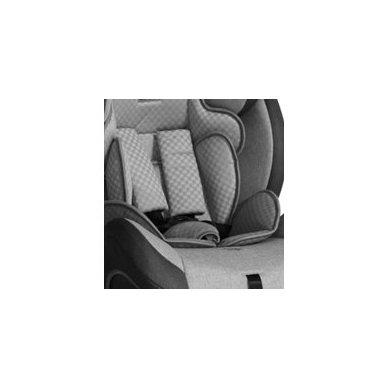 Automobilinė kėdutė Lorelli, Rialto Isofix Black&Grey 0-36 kg 8
