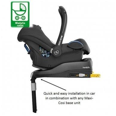 Automobilinė kėdutė Maxi-Cosi CabrioFix 0-13 kg, Nomad Grey 4