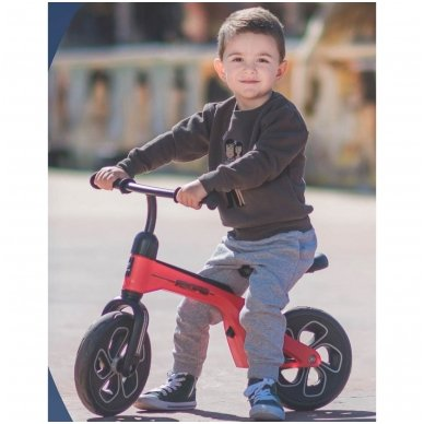 Balansinis dviratukas Lorelli Spider, raudonas 3