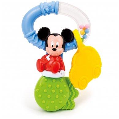 Barškutis - kramtukas Mickey Key  3