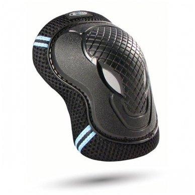 Kelių ir alkūnių apsaugos MICRO juodos (S dydis) 2