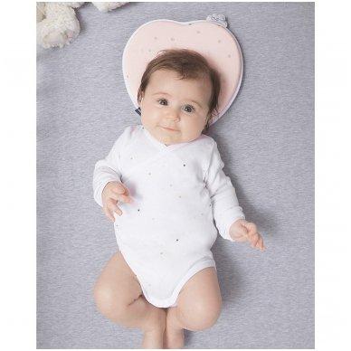 Pagalvė Babymoov Lovenest Baby Pillow, White 9