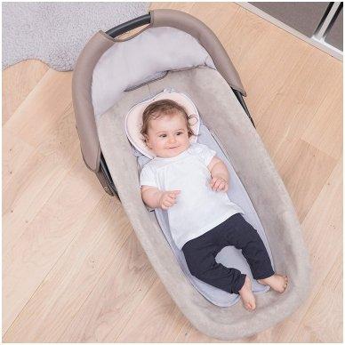 Pagalvė Babymoov Lovenest Baby Pillow, White 10