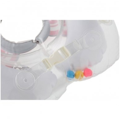 Plaukimo ratas kūdikiams ant kaklo 3D Undinėlė, Roxy Kids 3