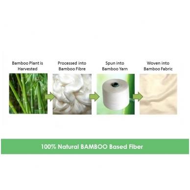 Rankšluostis Bamboo Babymatex, Grey 3