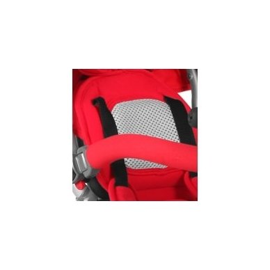 Triratukas Hot Rock Red sėdima dalis apsisuka į abi puses 13