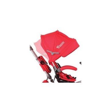 Triratukas Hot Rock Red sėdima dalis apsisuka į abi puses 4