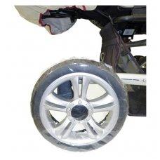 Apsauga vežimėlio ratams PVC 4 vnt.