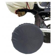 Apsauga vežimėlio ratams Nailon 4 vnt