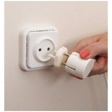 Plug Socket Covers 6 Pack, Clippasafe