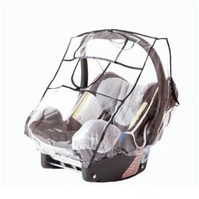 Apsauga nuo lietaus nešioklei autokedutei 2