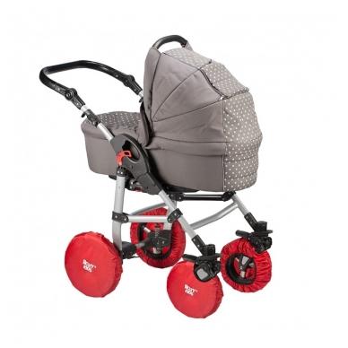 Apsauga vežimėlio ratams Nailon 4 vnt , Roxy Kids 4