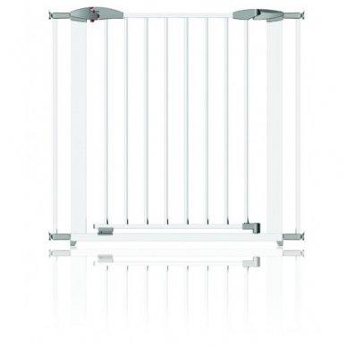 Apsauginiai varteliai 73-96cm metaliniai White