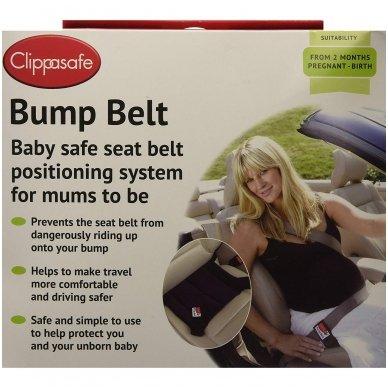 Apsauginis autodiržas besilaukiančiai, Bump Belt Clippasafe 6