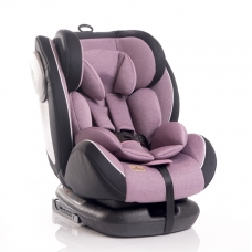Automobilinė kėdutė Lorelli, Corsica Isofix Pink 0-36 kg