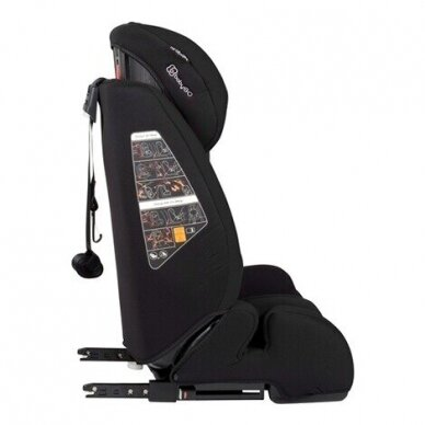 Automobilinė kėdutė BabyGo FreeFix 9-36kg Black 2