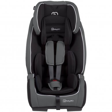 Automobilinė kėdutė BabyGo FreeFix 9-36kg Grey  2