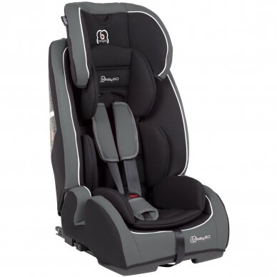 Automobilinė kėdutė BabyGo FreeFix 9-36kg Grey