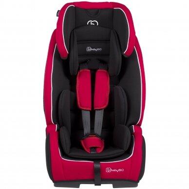 Automobilinė kėdutė BabyGo FreeFix 9-36kg Red 2
