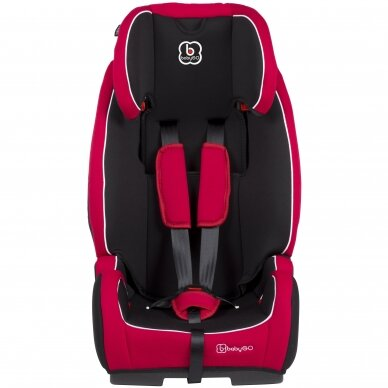 Automobilinė kėdutė BabyGo FreeFix 9-36kg Red 3