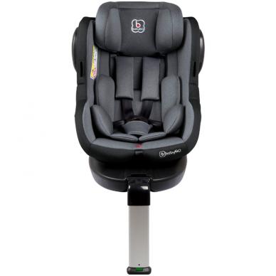 Automobilinė kėdutė Iso 360, 0-18 kg, Grey 2