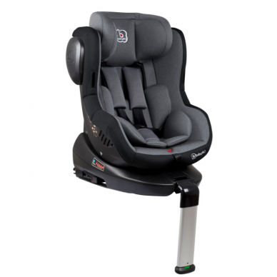 Automobilinė kėdutė Iso 360, 0-18 kg, Grey
