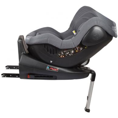 Automobilinė kėdutė Iso 360, 0-18 kg, Grey 6