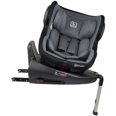 Automobilinė kėdutė Iso 360, 0-18 kg, Grey 5