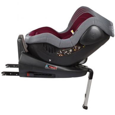 Automobilinė kėdutė Iso 360, 0-18 kg, Red 6