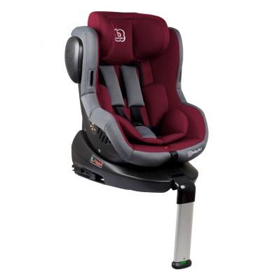 Automobilinė kėdutė Iso 360, 0-18 kg, Red
