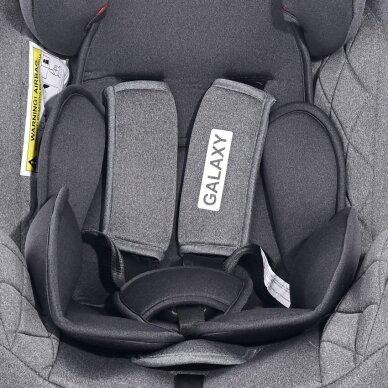 Automobilinė kėdutė Lorelli, Galaxy Grey-36 kg 6