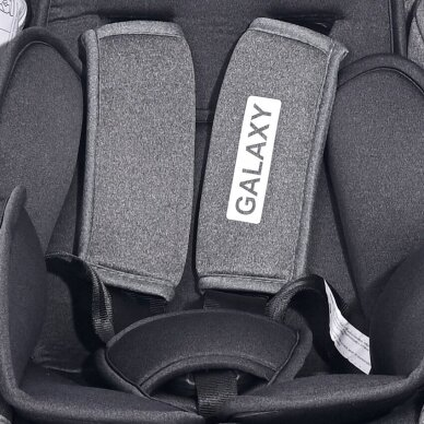 Automobilinė kėdutė Lorelli, Galaxy Grey-36 kg 7