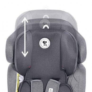 Automobilinė kėdutė Lorelli, Galaxy Grey-36 kg 8
