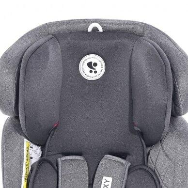 Automobilinė kėdutė Lorelli, Galaxy Grey-36 kg 5