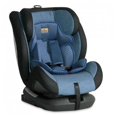 Automobilinė kėdutė Lorelli, Rialto Isofix Blue 0-36 kg