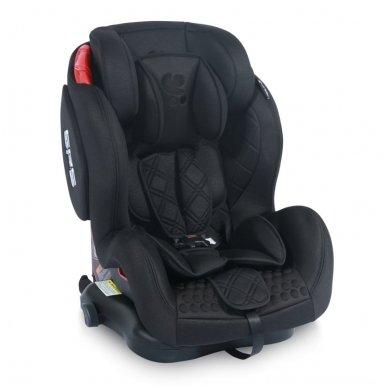 Automobilinė kėdutė Lorelli, TITAN+SPS Twinfix Black 9-36 kg