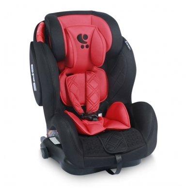 Automobilinė kėdutė Lorelli, TITAN+SPS Twinfix Black & Red 9-36 kg