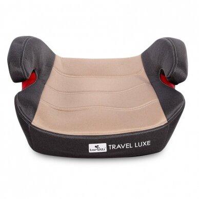 Automobilinė kėdutė Lorelli Travel Luxe ISOFIX Beige 3