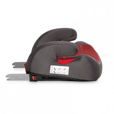 Automobilinė kėdutė Lorelli Travel Luxe ISOFIX Red 2
