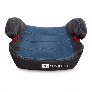 Automobilinė kėdutė Lorelli Travel Luxe ISOFIX Blue 4