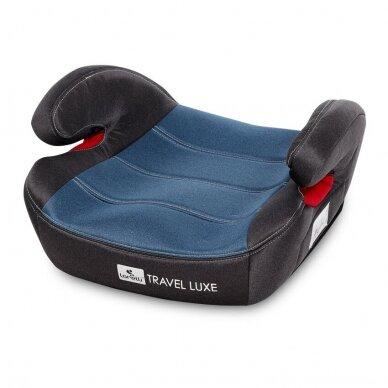 Automobilinė kėdutė Lorelli Travel Luxe ISOFIX Blue